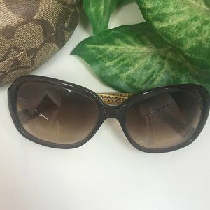 Like New Coach Beatrice style sunglasses